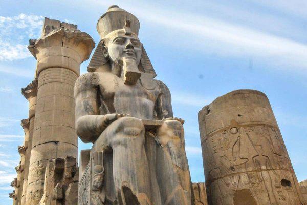 Luxor east bank weast bank Karnak temple Luxor temple