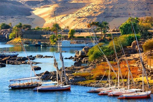 aswan from luxor